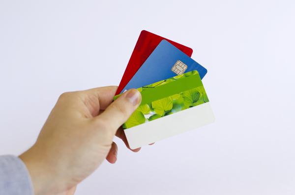 借入れ専門のカードのイメージ