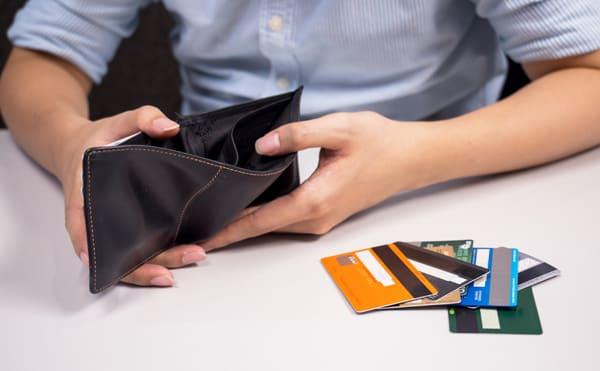 カード決済が出来るクレジットカードのイメージ