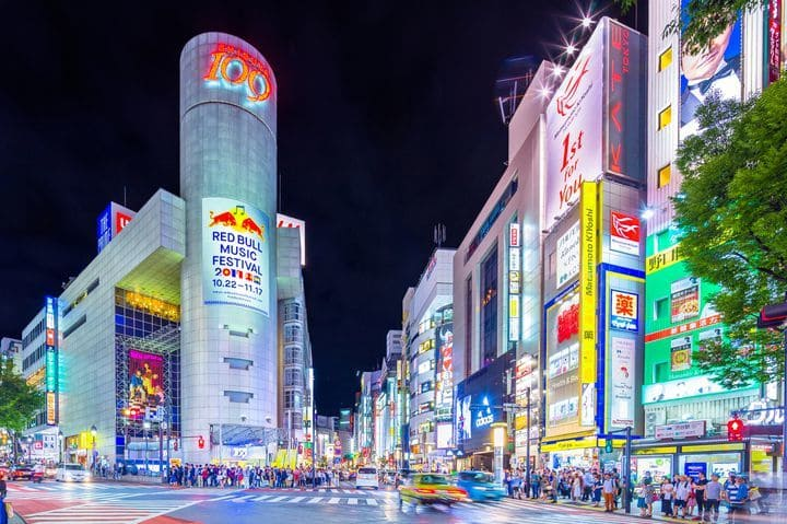 渋谷人気スポット